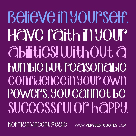 Confidence Quotes On Twitter: Having Confidence In Yourself